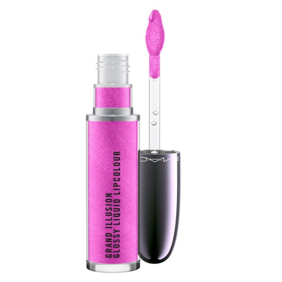 MAC Grand Illusion Glossy Liquid Lipcolour Ruby Princess 5ml