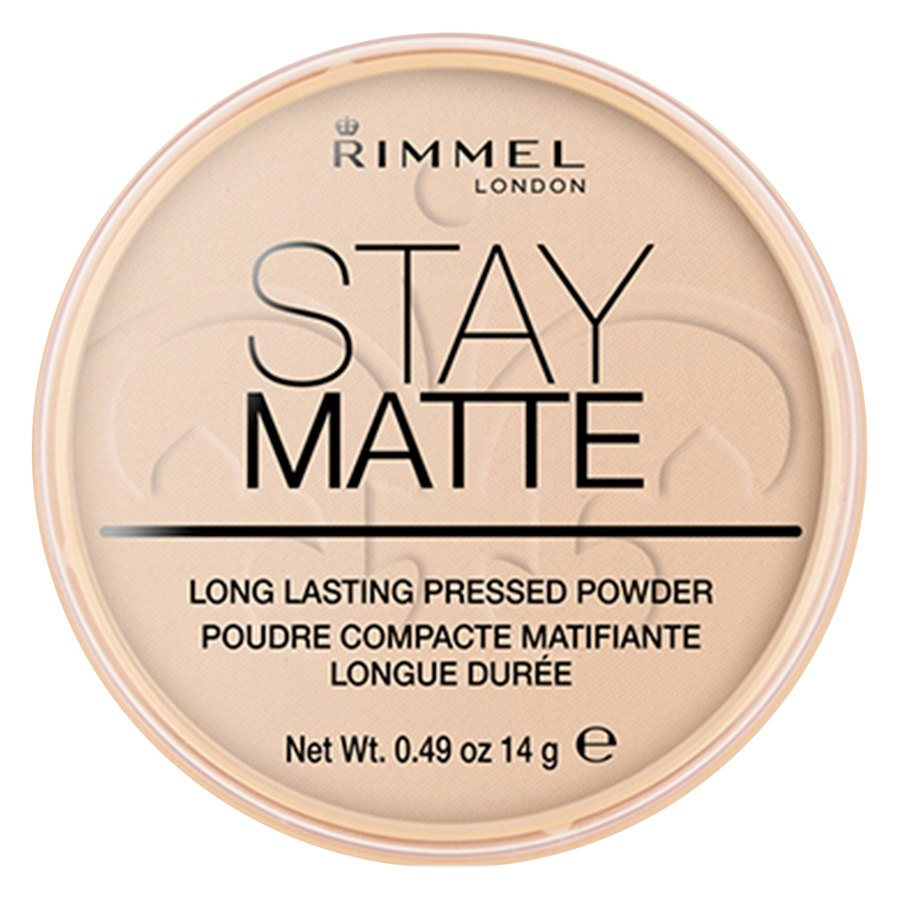 Rimmel London Stay Matte Pressed Face Powder #003 Peach Glow 14g