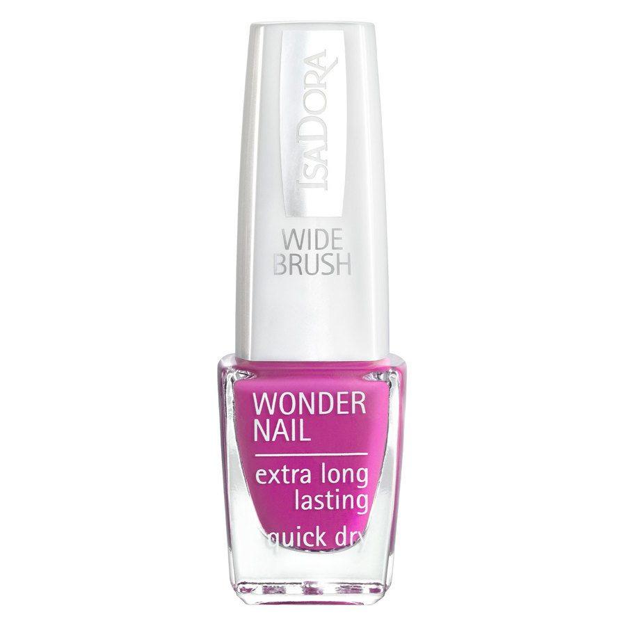 IsaDora Wonder Nail Wide Brush #192 Power Pink 6ml