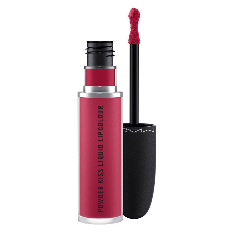 MAC Cosmetics Powder Kiss Liquid Lipcolour Elegance Is Learned 5ml