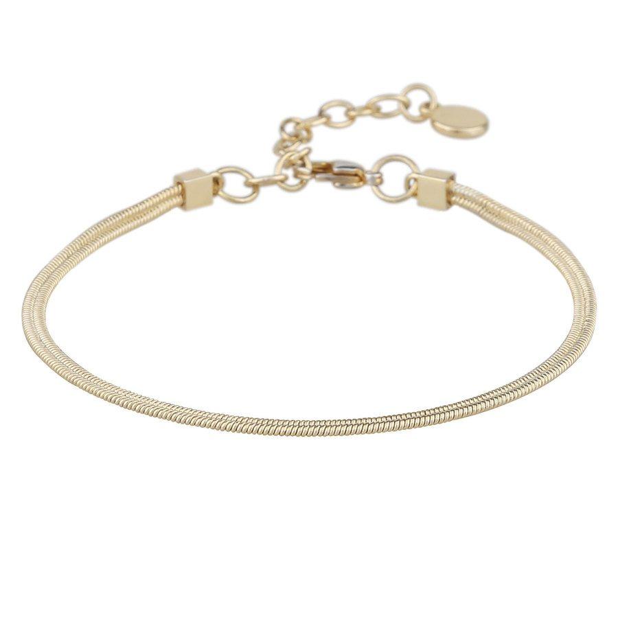 Snö Of Sweden Chase Charlize Bracelet Plain Gold