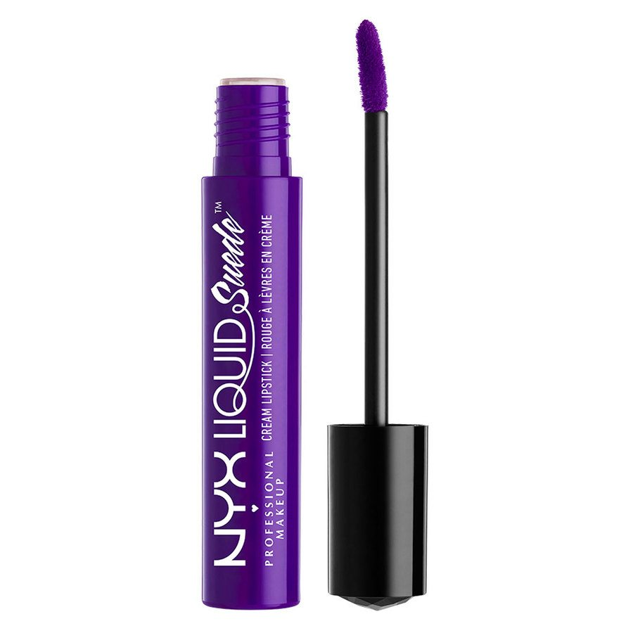 NYX Professional Makeup Liquid Suede Cream Lipstick Amethyst LSCL10