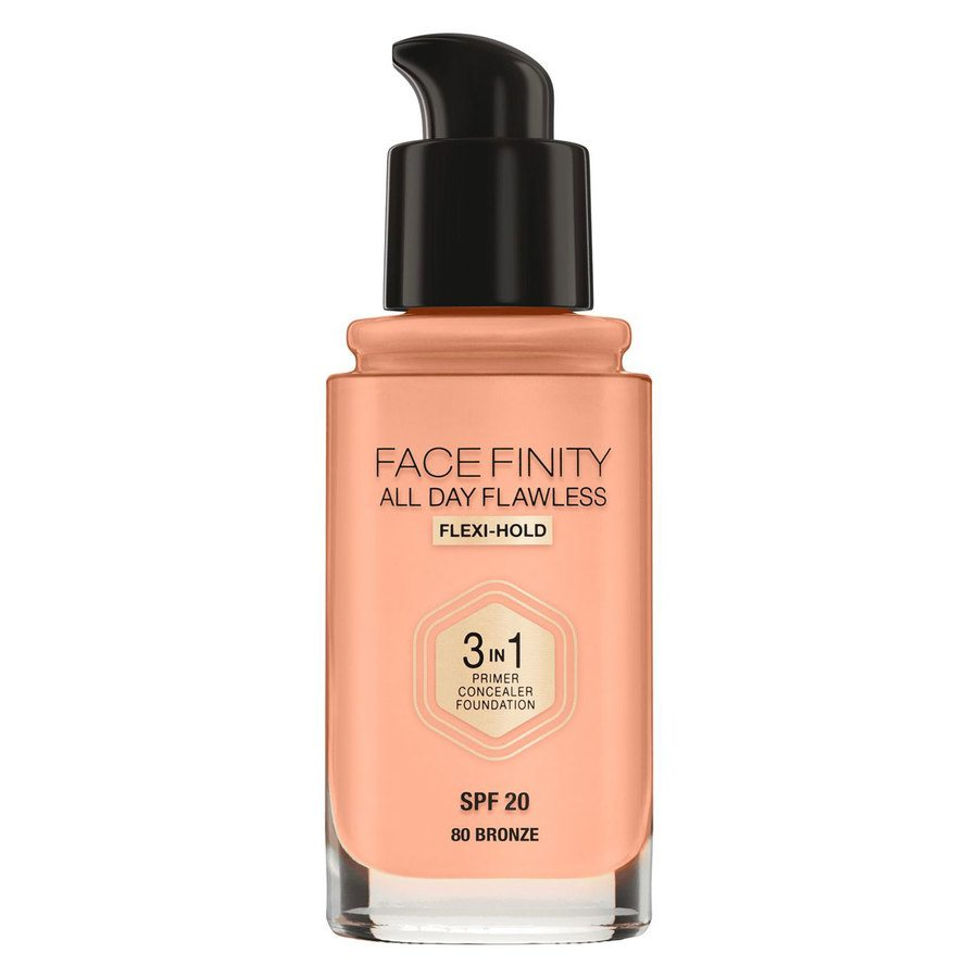 Max Factor Facefinity All Day Flawless 3-In-1 Foundation #80 Bronze 30ml