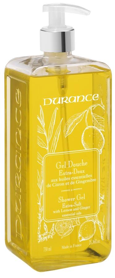 Durance Liquid Marseille Soap With Lemon & Ginger Dusjgele 750ml