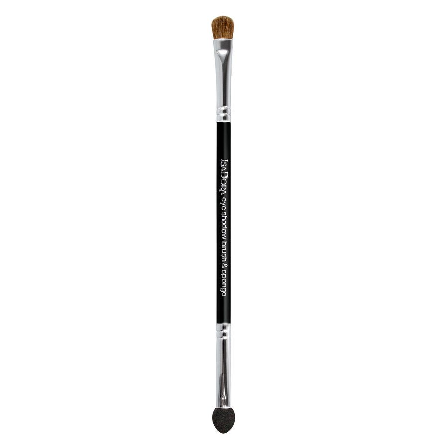 IsaDora Double Ended Eye Shadow Applicator Brush & Sponge