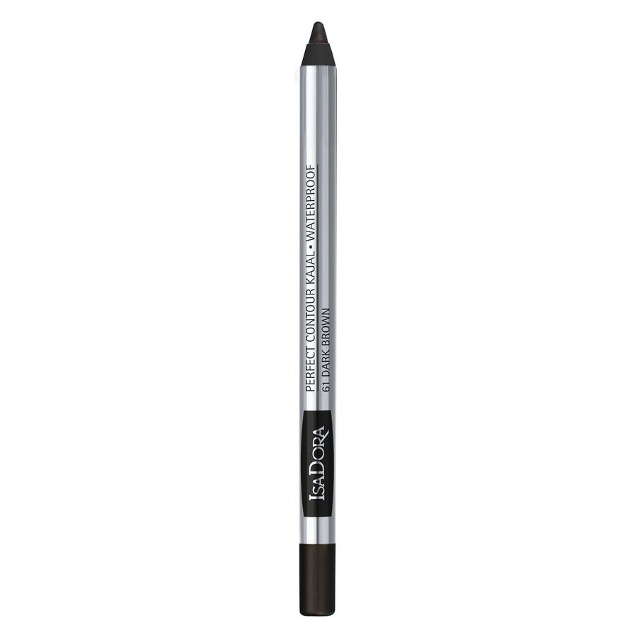 IsaDora Perfect Contour Kajal Waterproof #61 Dark Brown 1,3g