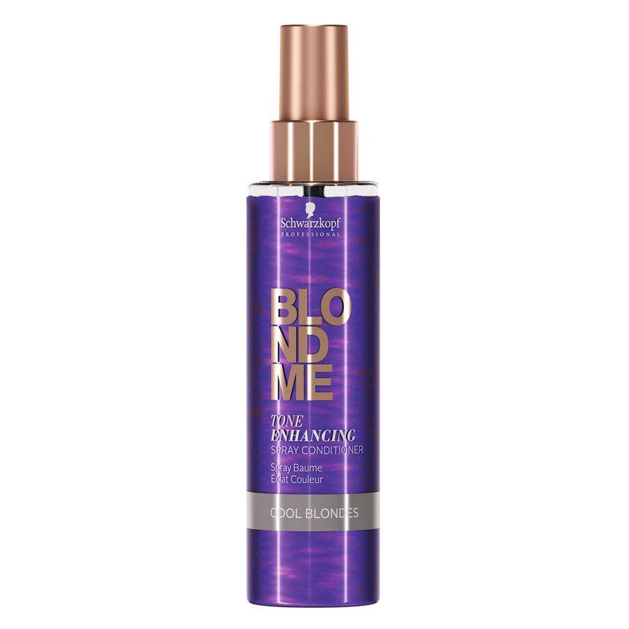 Schwarzkopf Blondme Tone Enhancing Spray Conditioner Cool Blondes 150ml