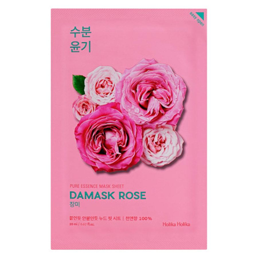 Holika Holika Pure Essence Mask Sheet Damask Rose 20ml