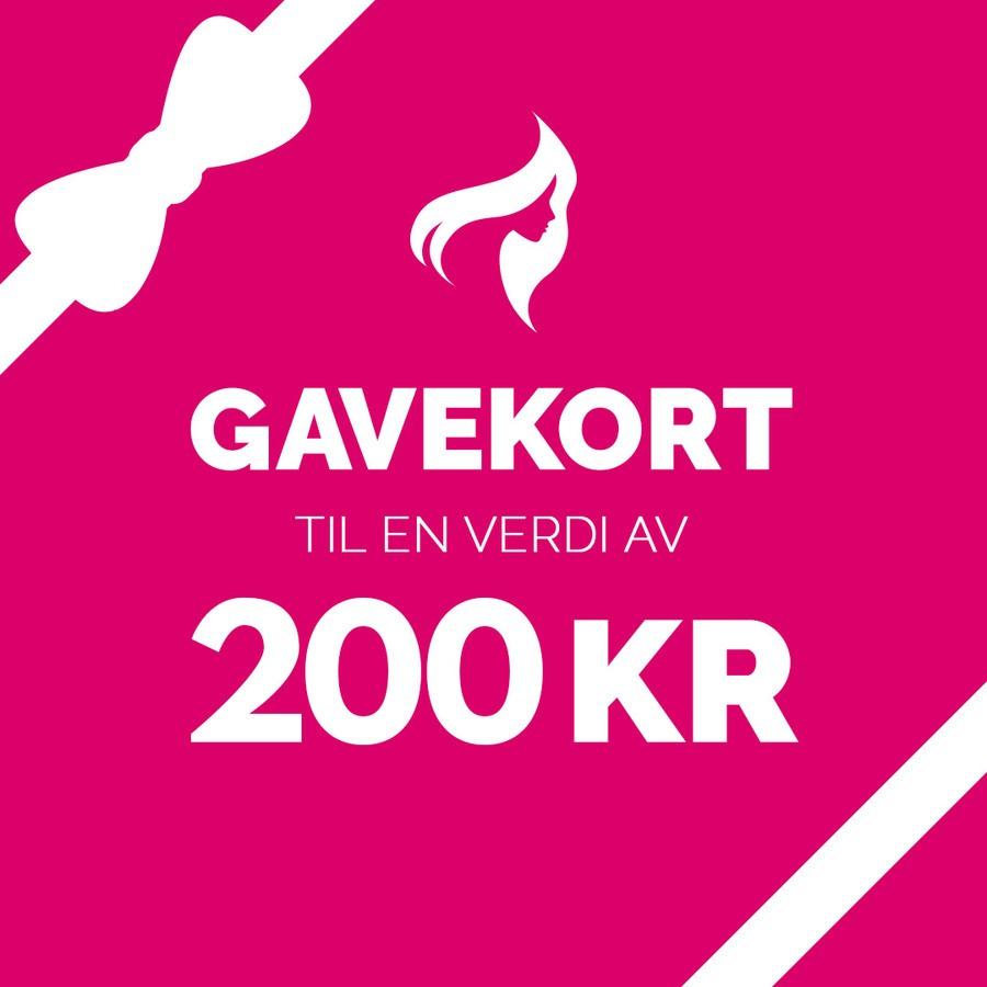 Gavekort - 200,-