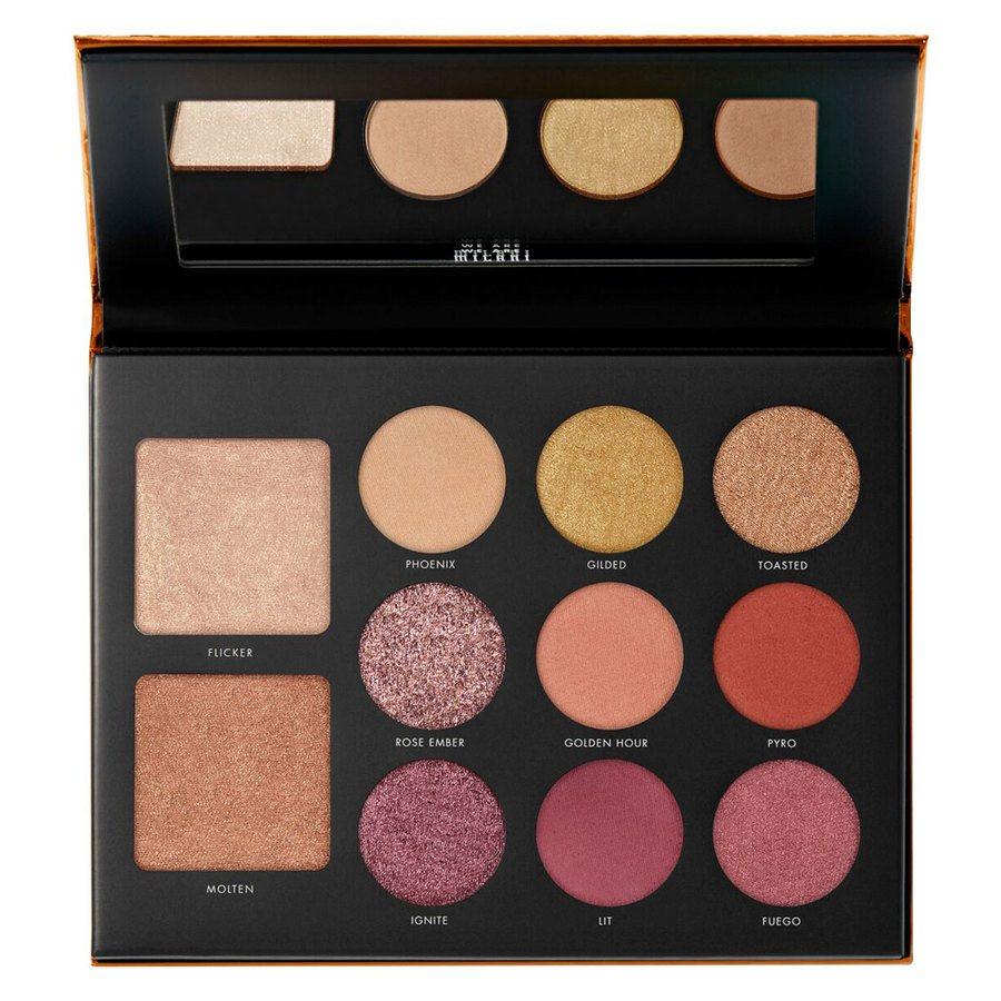 Milani Cosmetics Gilded Ember Hyper Pigmented Eyeshadow Palette