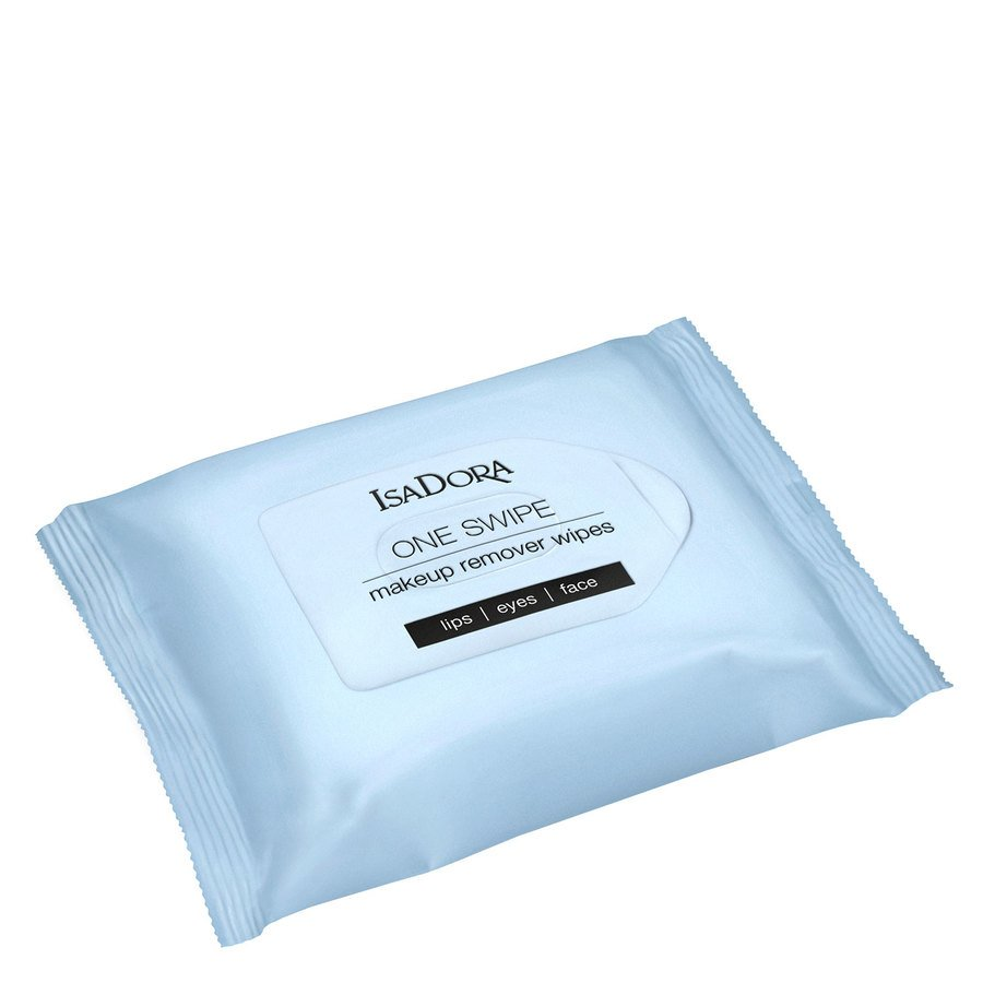 IsaDora One Swipe Makeup Remover Wipes 25pcs
