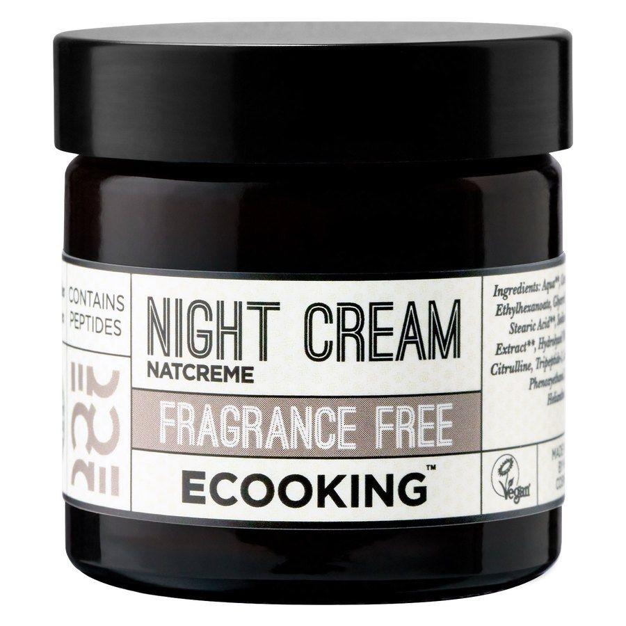 Ecooking Night Cream Fragrance Free 50ml