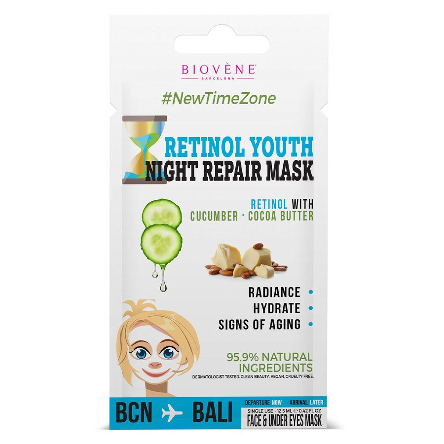 Biovène Retinol Youth Night Cream Mask 12,5ml