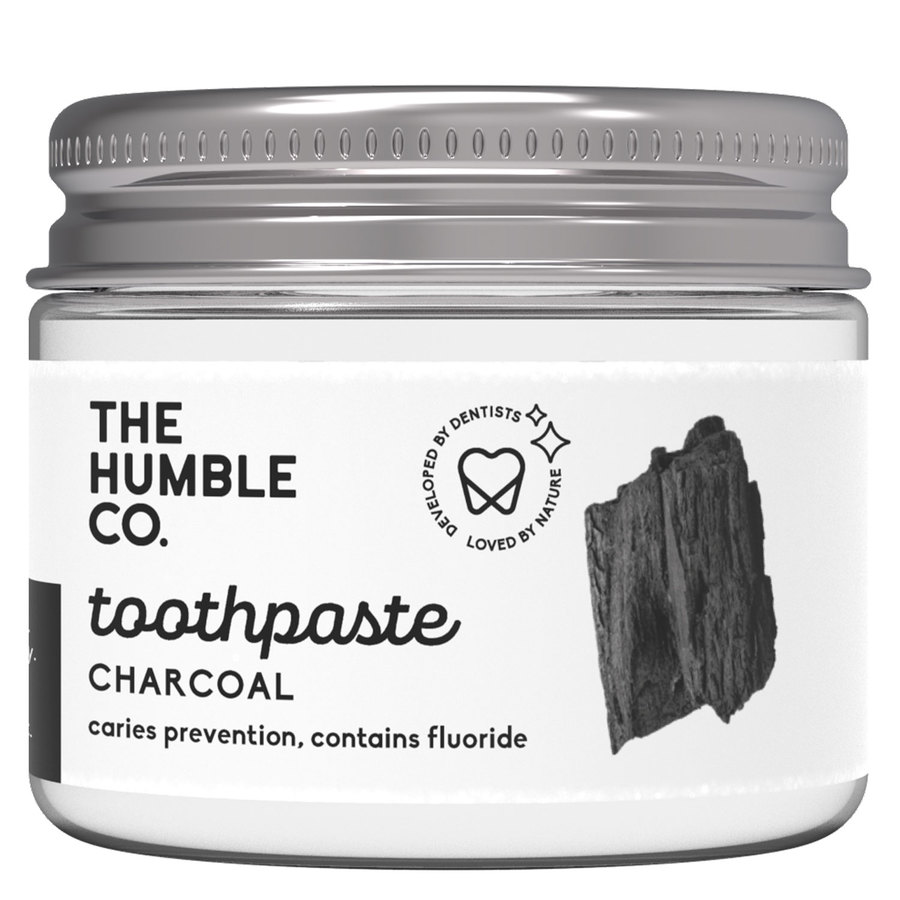 The Humble Co Humble Natural Toothpaste In Jar Charcoal 50ml