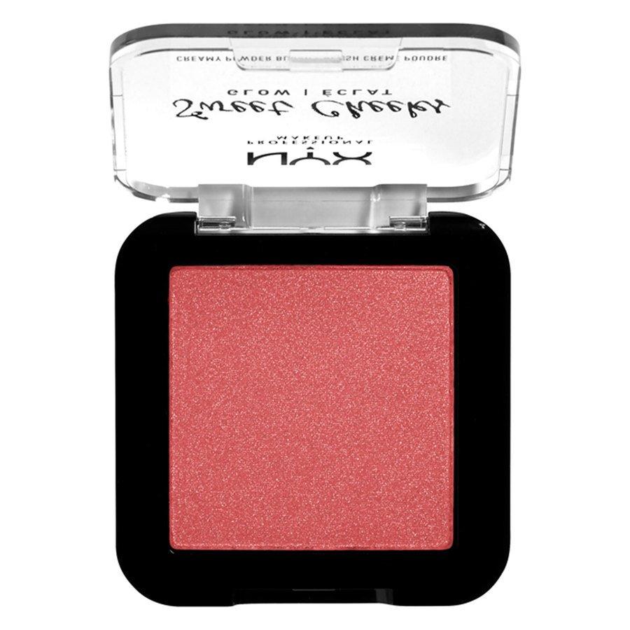 NYX Professional Makeup Sweet Cheeks Creamy Powder Blush Glowy Citrine Rose 5g