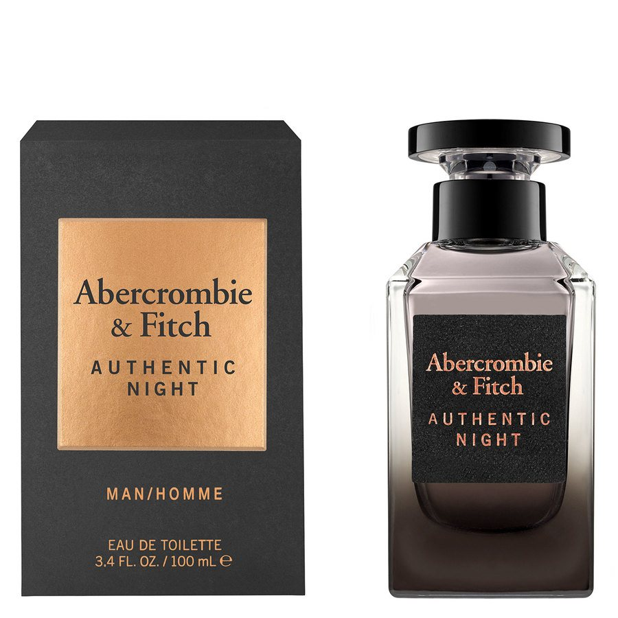 Abercrombie & Fitch Authentic Night Eau De Toilette 100ml