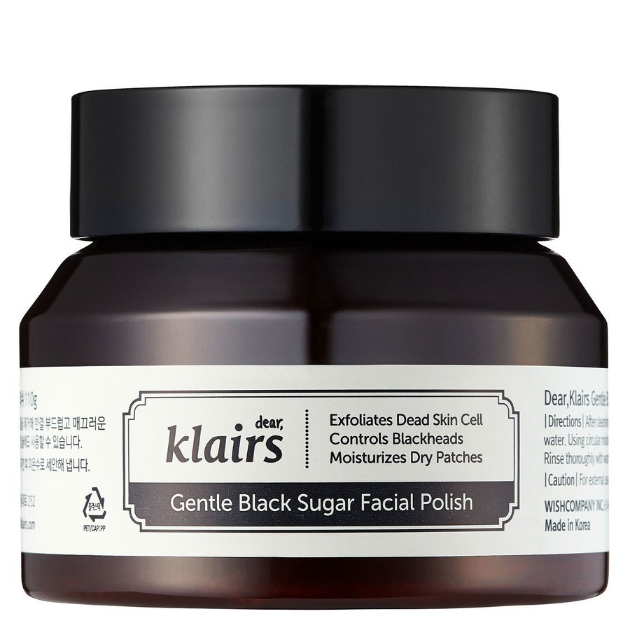 Klairs Gentle Black Sugar Facial Polish 110g