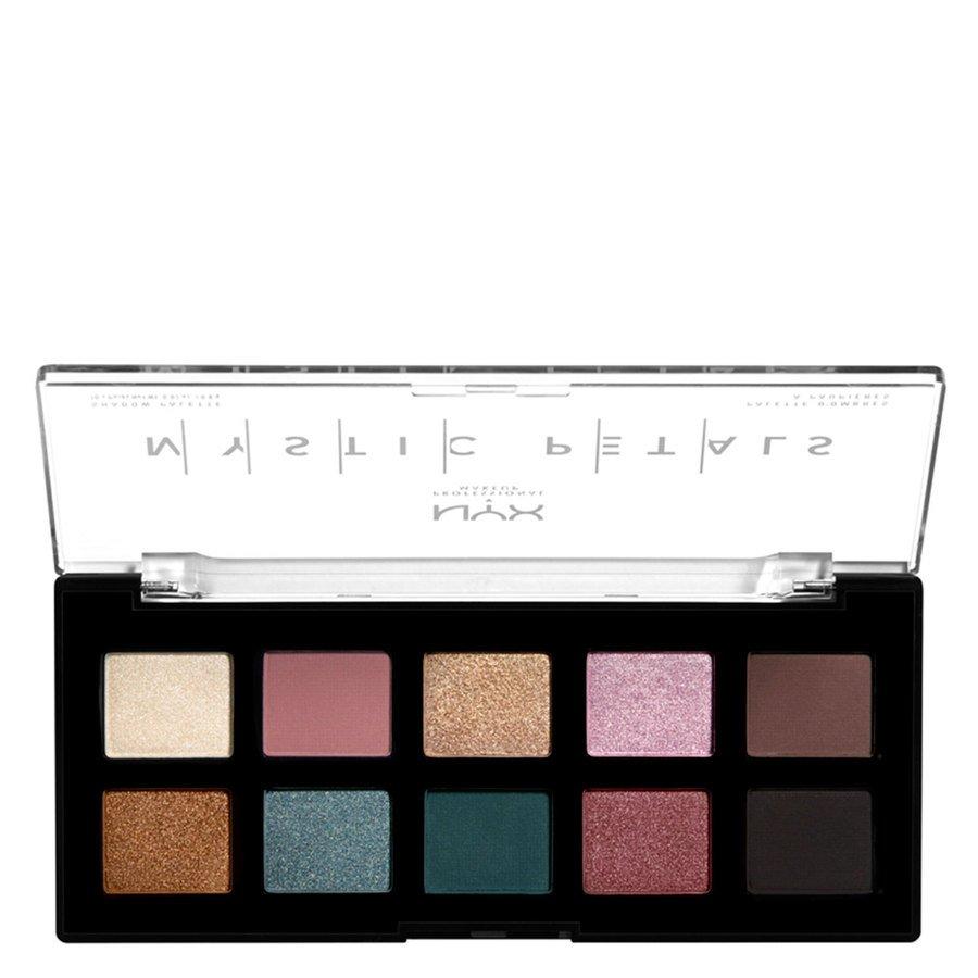 NYX Professional Makeup Mystic Petals Shadow Palette Dark Mystic 10x0,8g