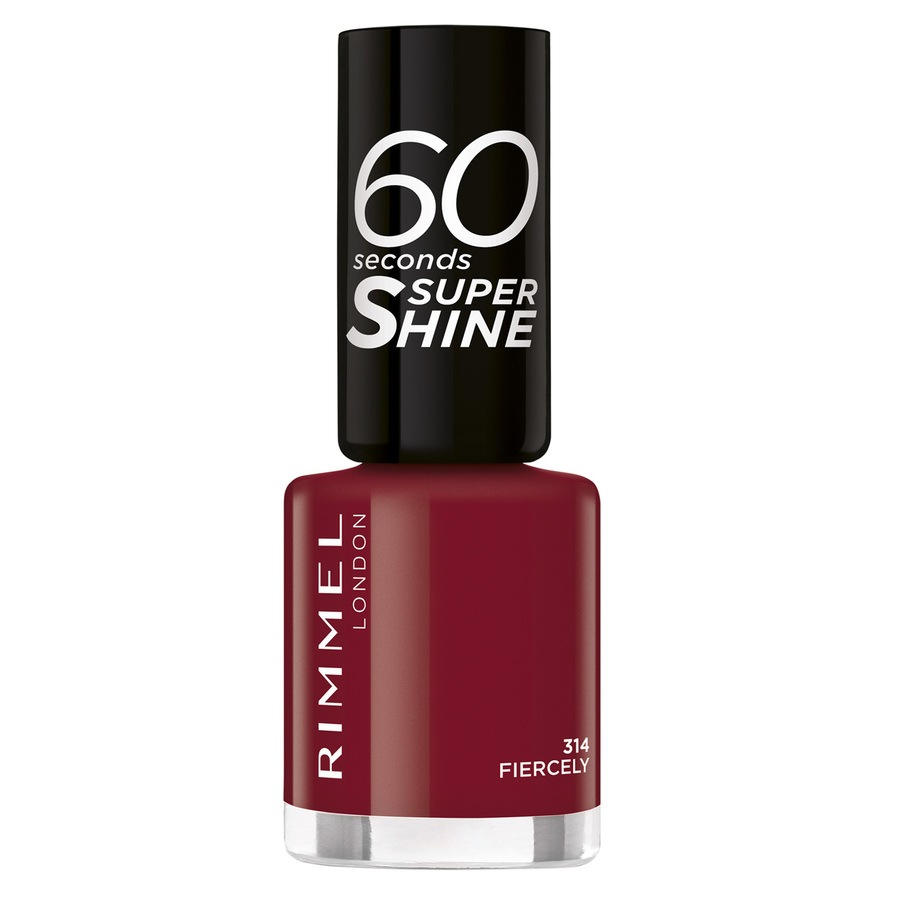 Rimmel London 60 Seconds Super Shine 314 Fiercely 8ml