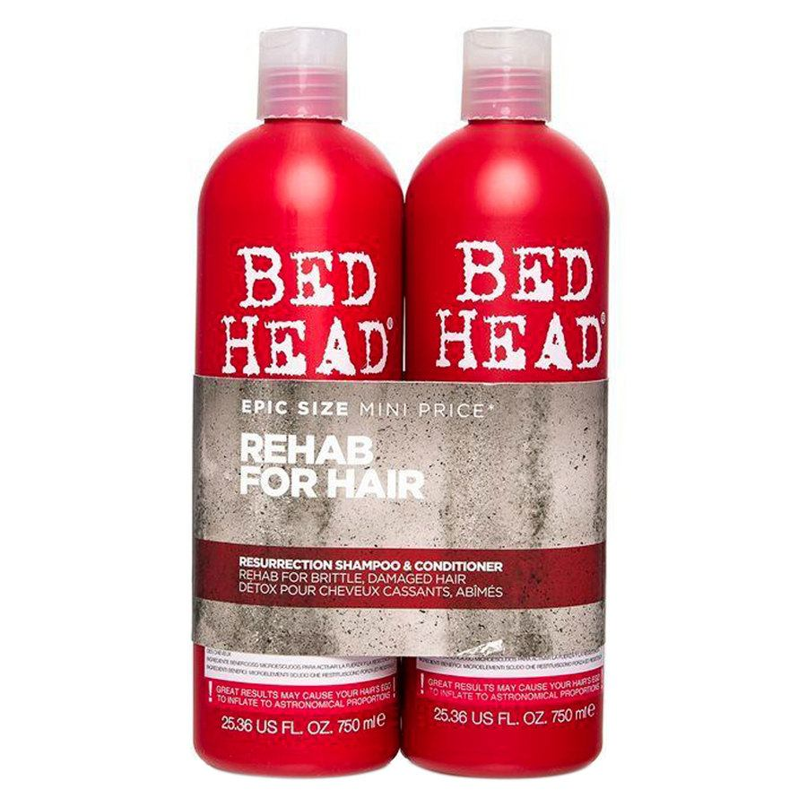 Tigi Bedhead Urban Antidotes Resurrection Shampoo & Conditioner 2x750ml