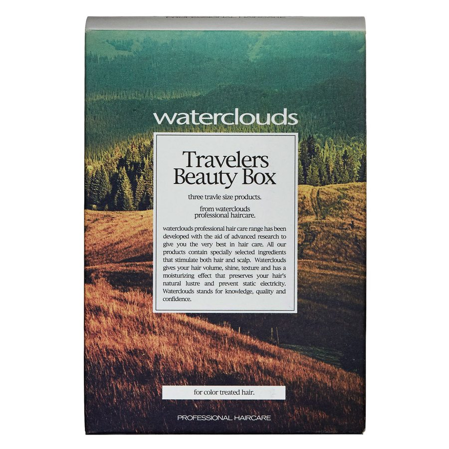 Waterclouds Travelers Beauty Box Color 3pcs