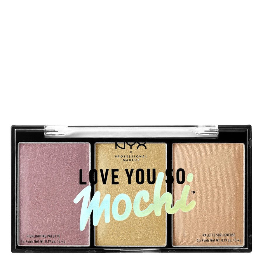 NYX Professional Makeup Love You So Mochi Highlighting Palette Lit Life