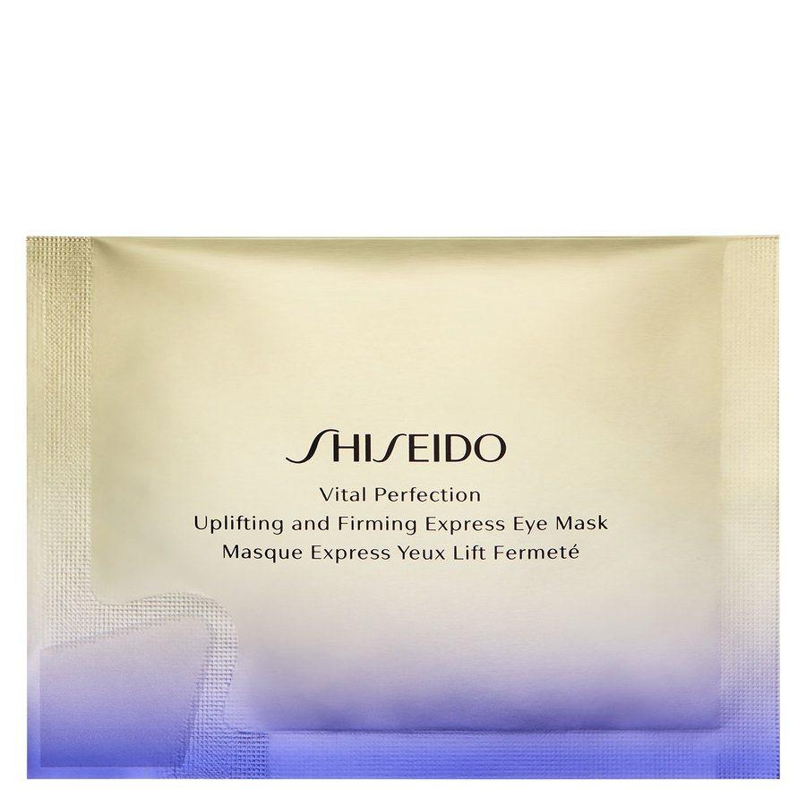 Shiseido Vital Perfection Uplifting And Firming Express Eye Mask 12pcs